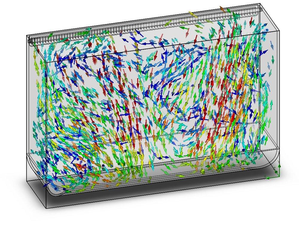 Aquarium Water Flow Analysis