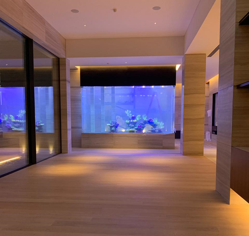 Dubai custom acrylic aquarium
