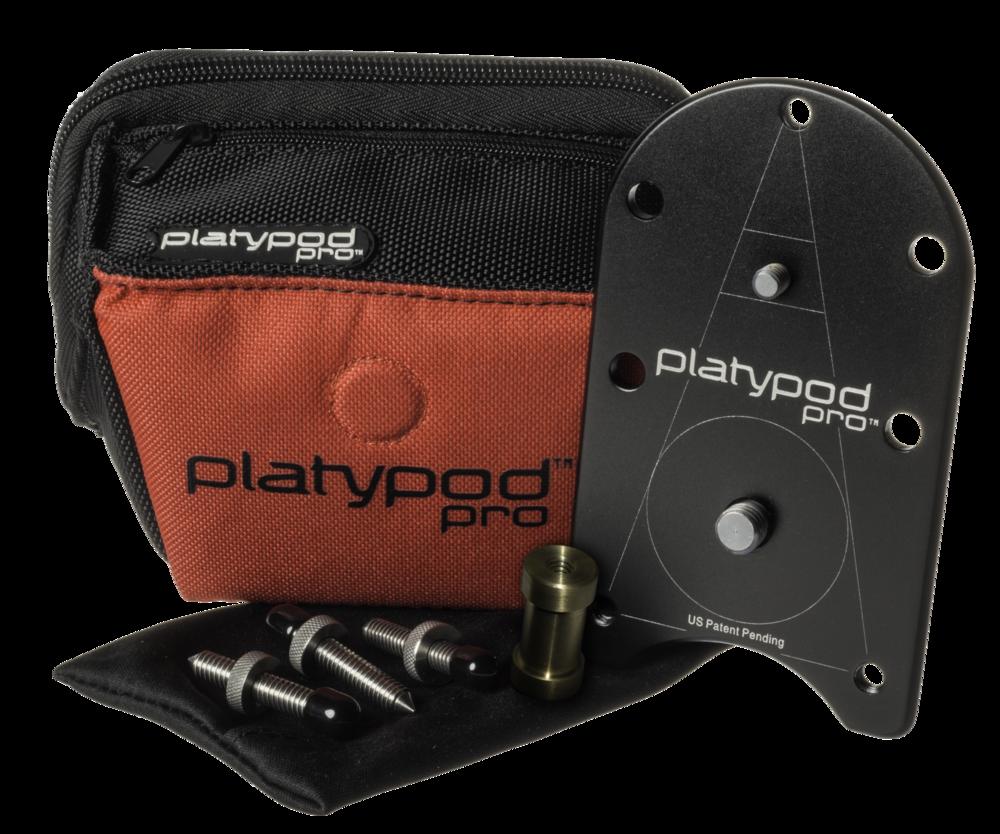 Deluxe Platypod Pro Kit | Platypod Pro | Tripod