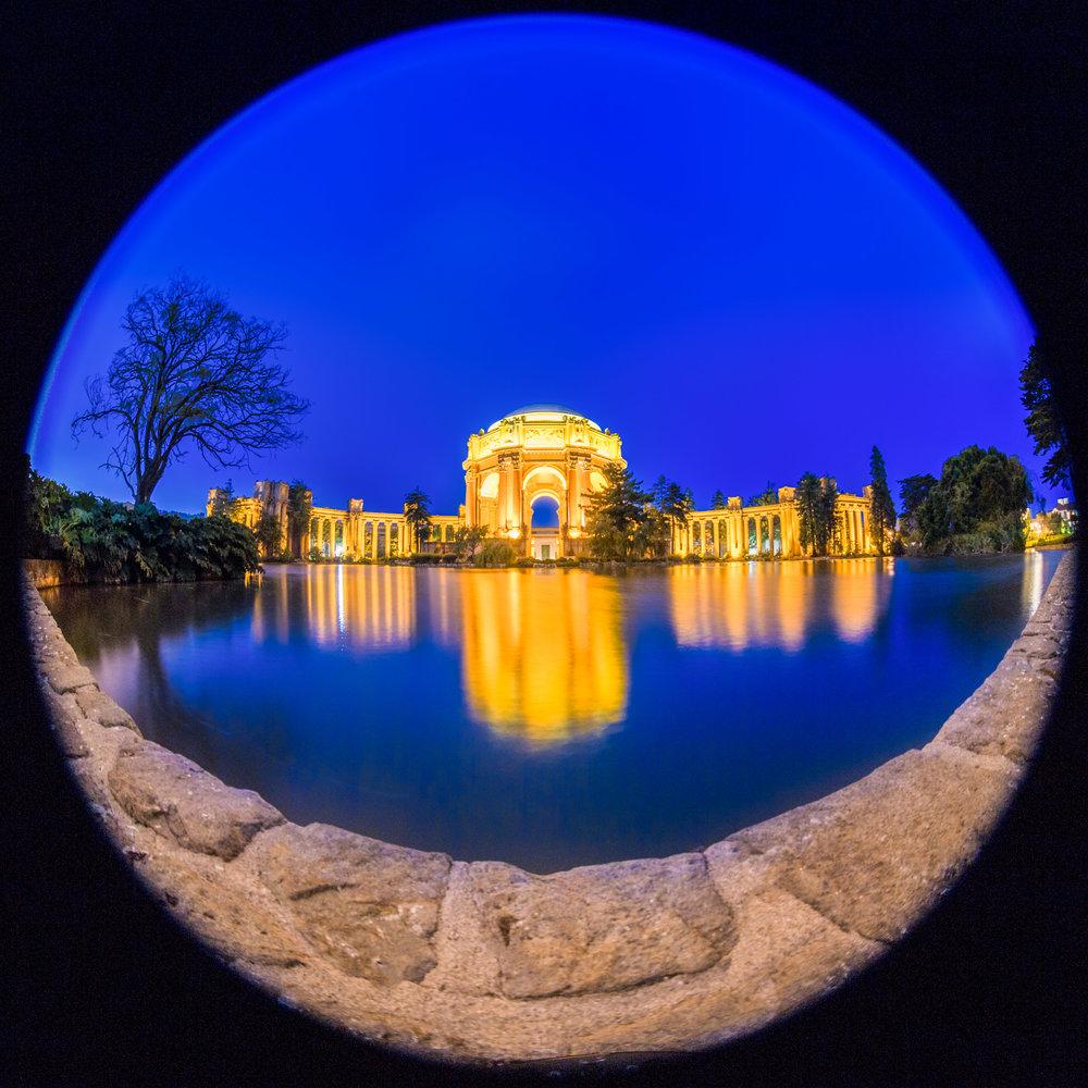 Palace of Fine Arts fish eye.jpg
