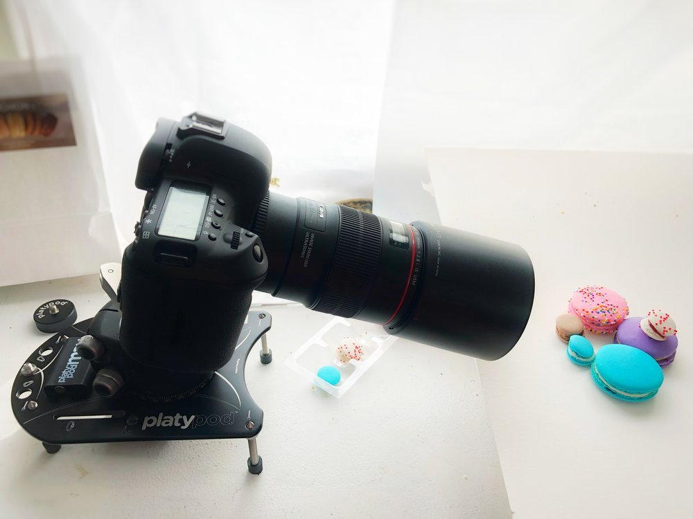 macro photography setup