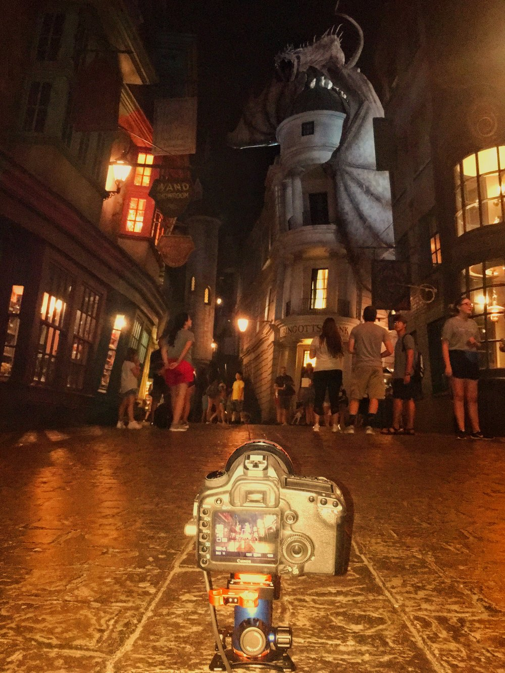 Universal Studios Wizarding World of Harry Potter Diagon Alley