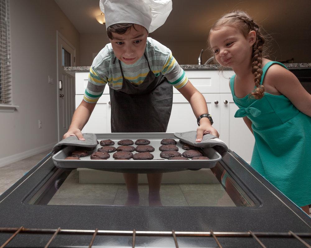 Kid and Cookies photo shoot!