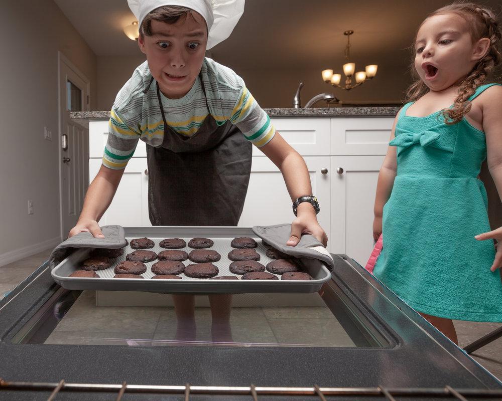 Kids and Cookies photo shoot!