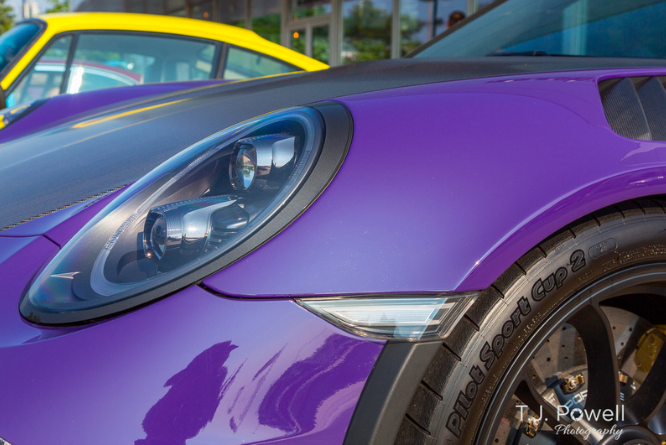 Porsche of Beachwood Cars & Coffee Show; Image by T.J. Powell