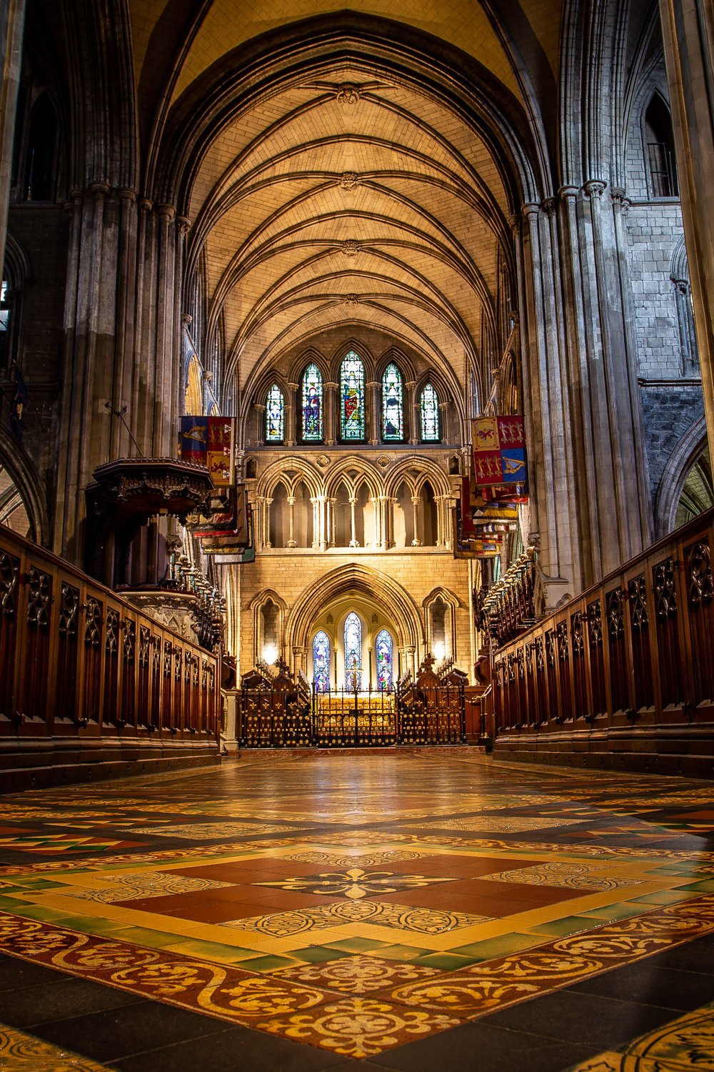 Pictured: St. Patrick's Cathedral, Dublin; Photo Credit: Cathy Baitson.