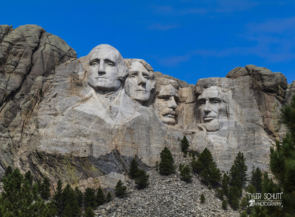 Mount Rushmore National Memorial. Credit: Tyler Schlitt Photography
