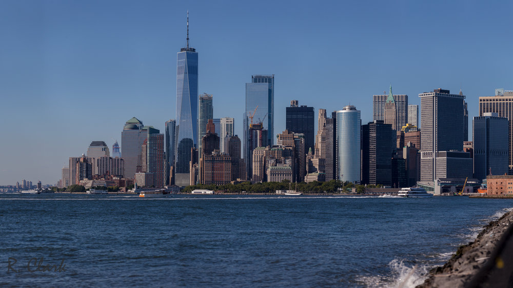 NYC Skyline from Governors Island by Rob Clark