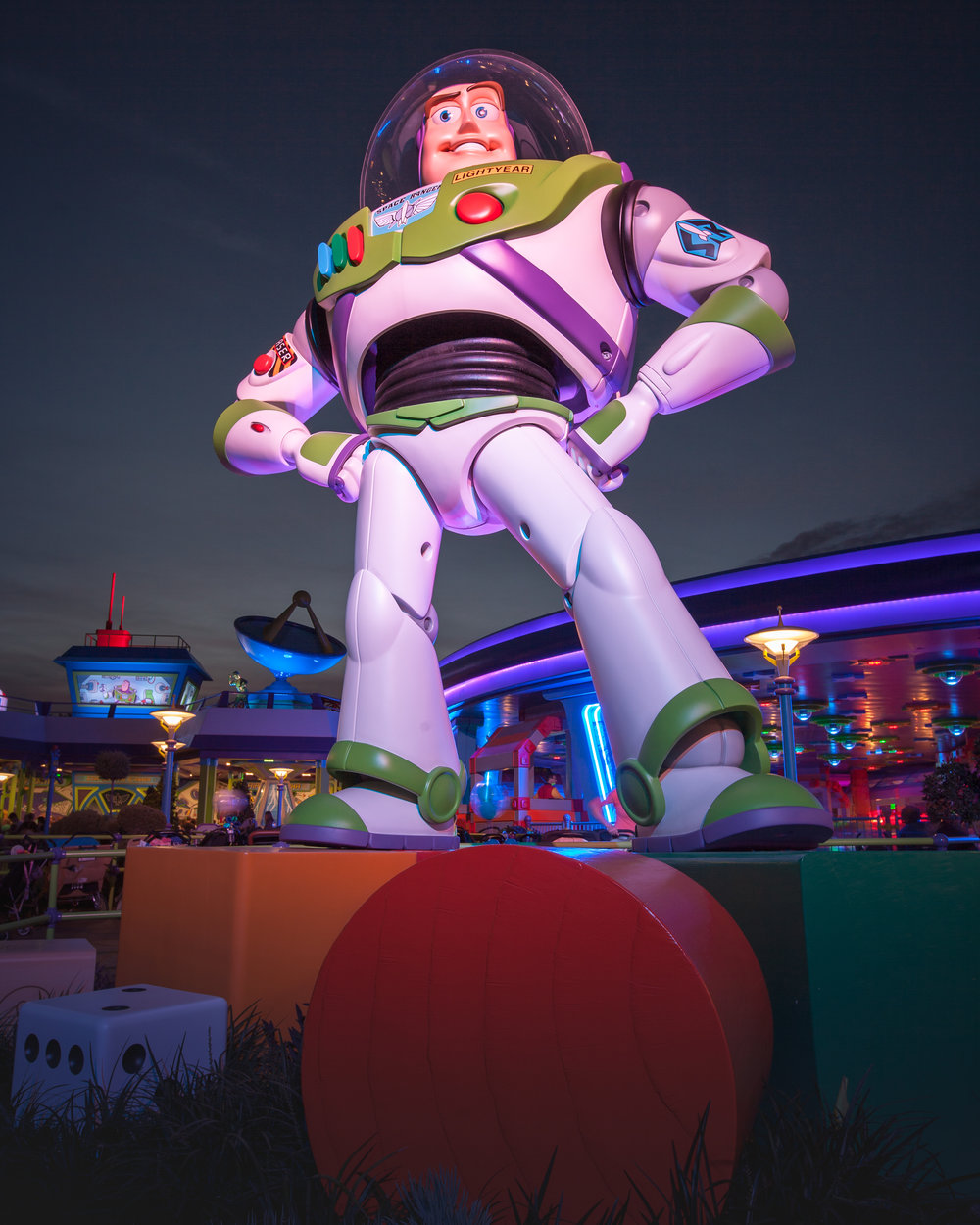 Buzz Lightyear at Toy Story Land; Gilmar Smith - 2018