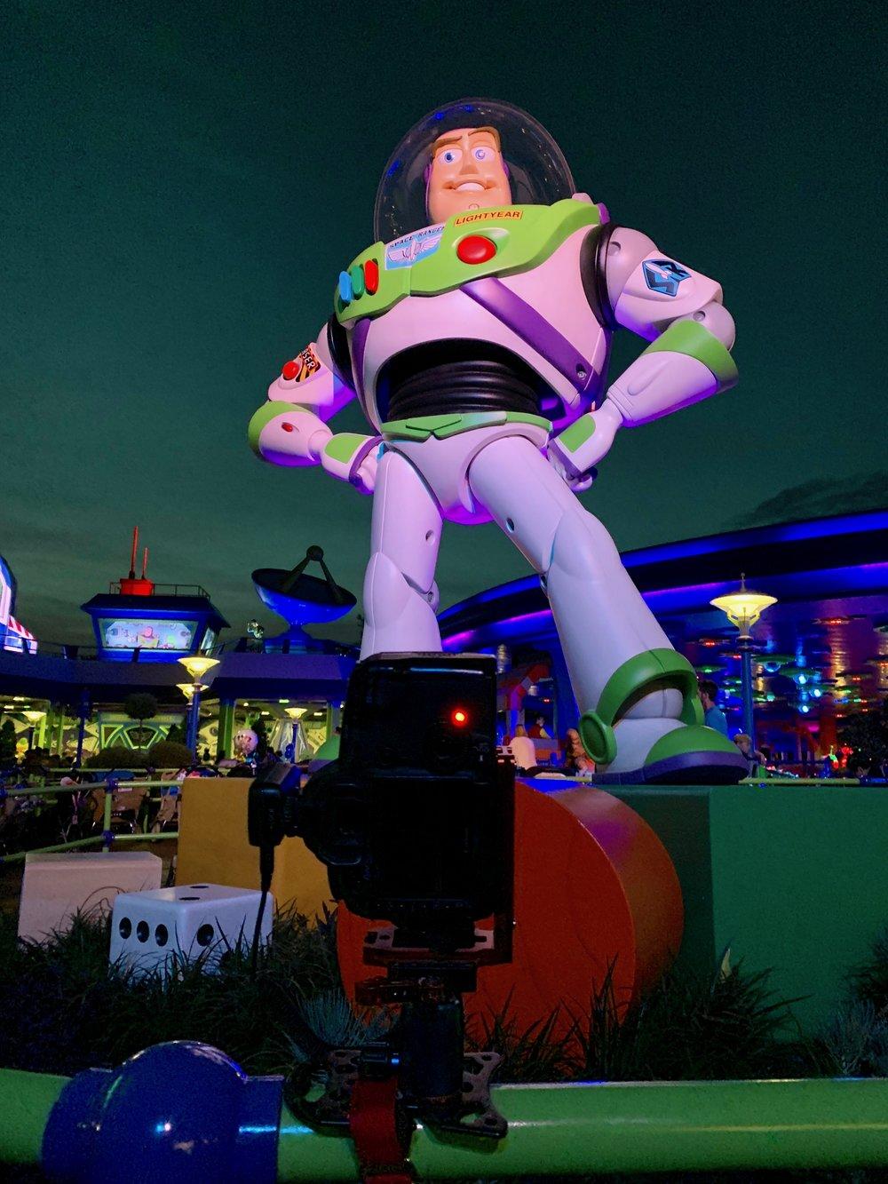Platypod Ultra and Buzz Lightyear