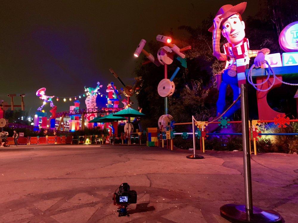 Platypod Ultra at Toy Story Land