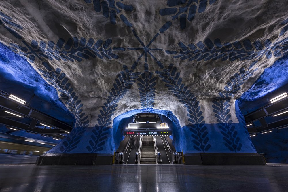 Stockholm metro, 2018 by Dave Williams