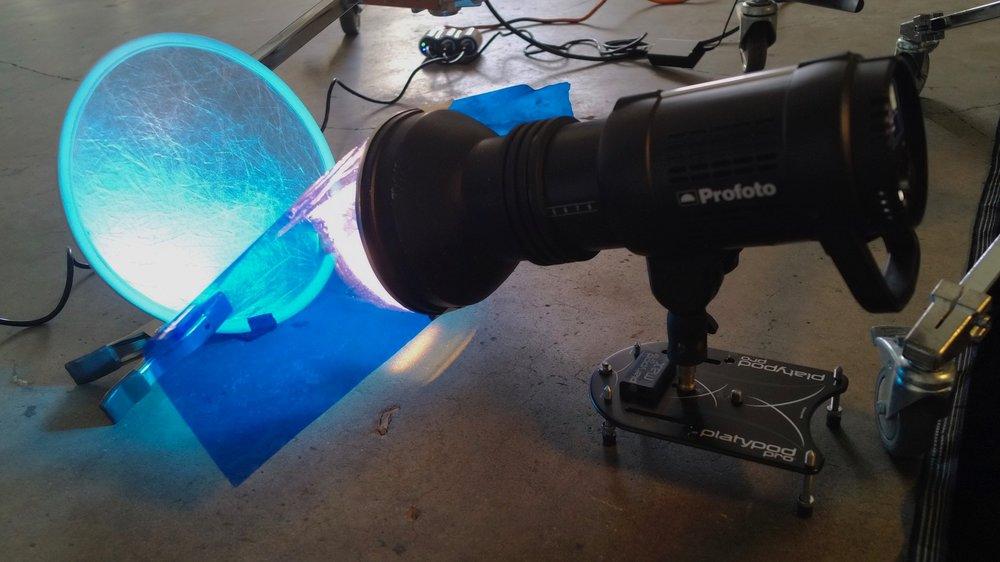 Profoto for low angle lighting