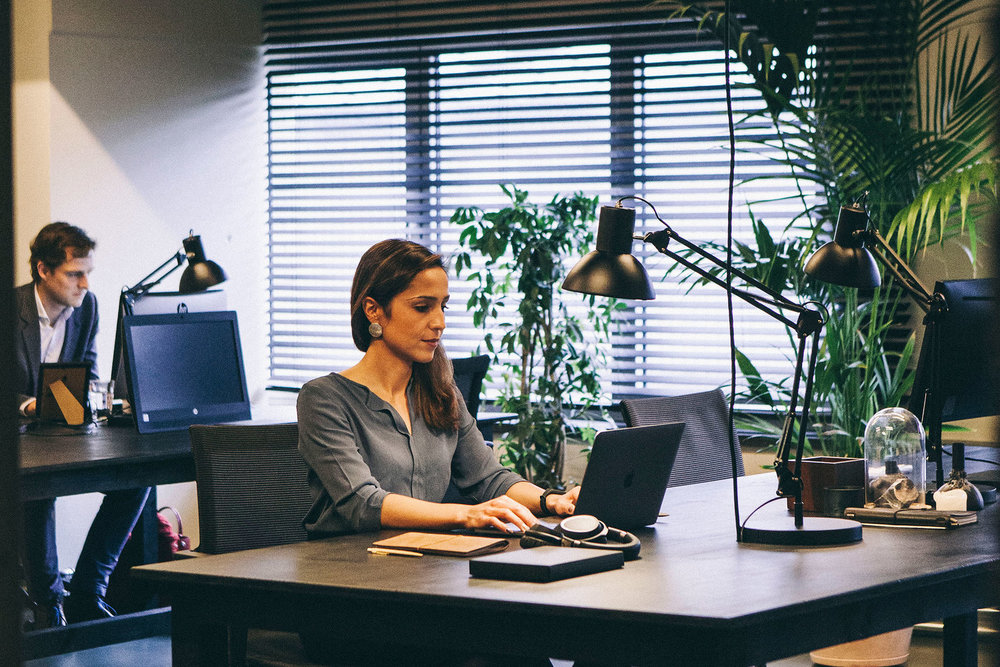 Corporate - Satellite work space outside the corporate HQ.24/7 access to lobby and private work area.All services included.-Tailor-made package