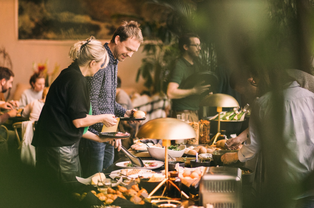 Coffeelabs also caters for Fosbury & Sons' Sunday brunches that bring people together. Photography by Jeroen Leurs