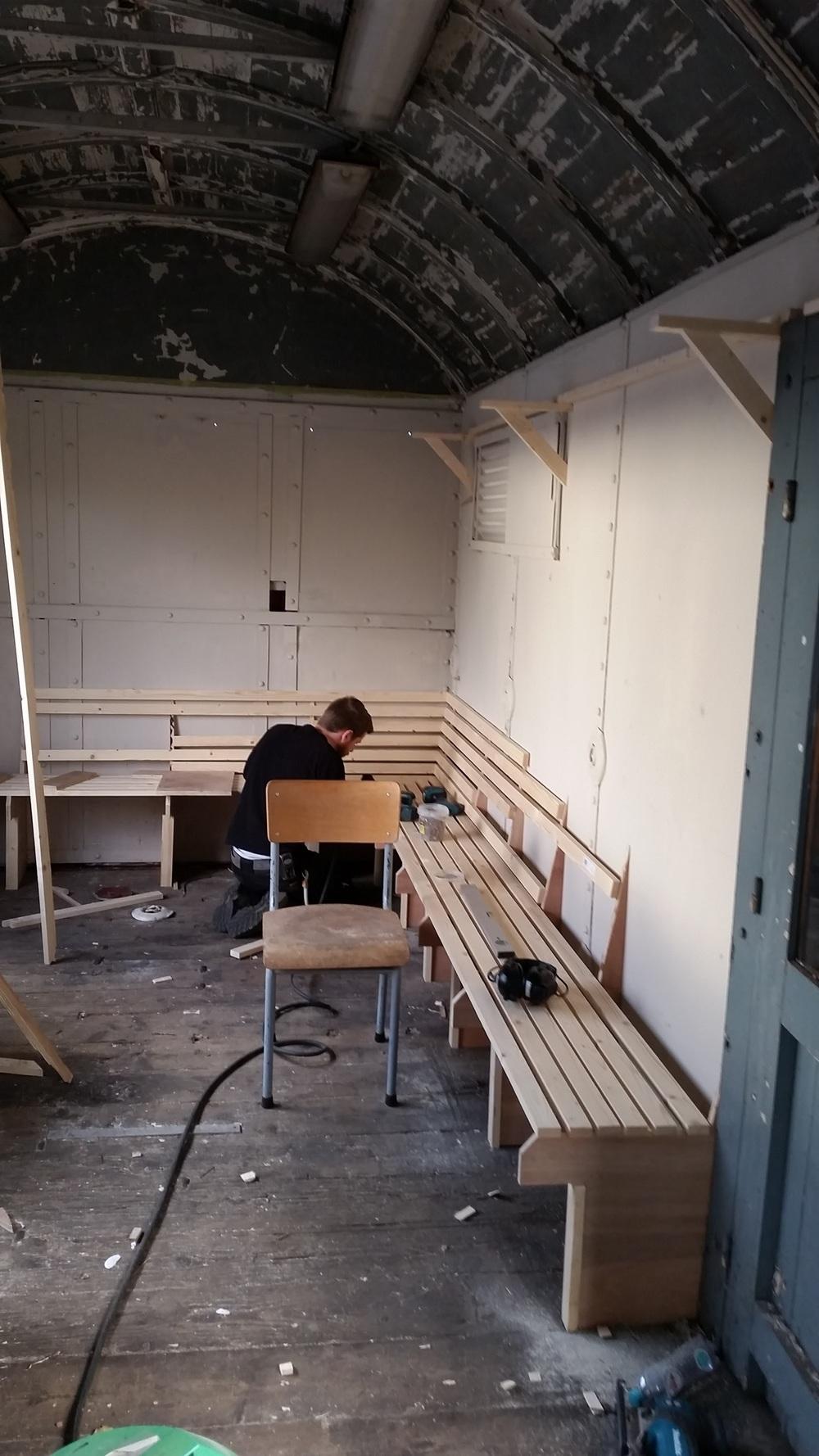 Bahnhof schrijwerkerij