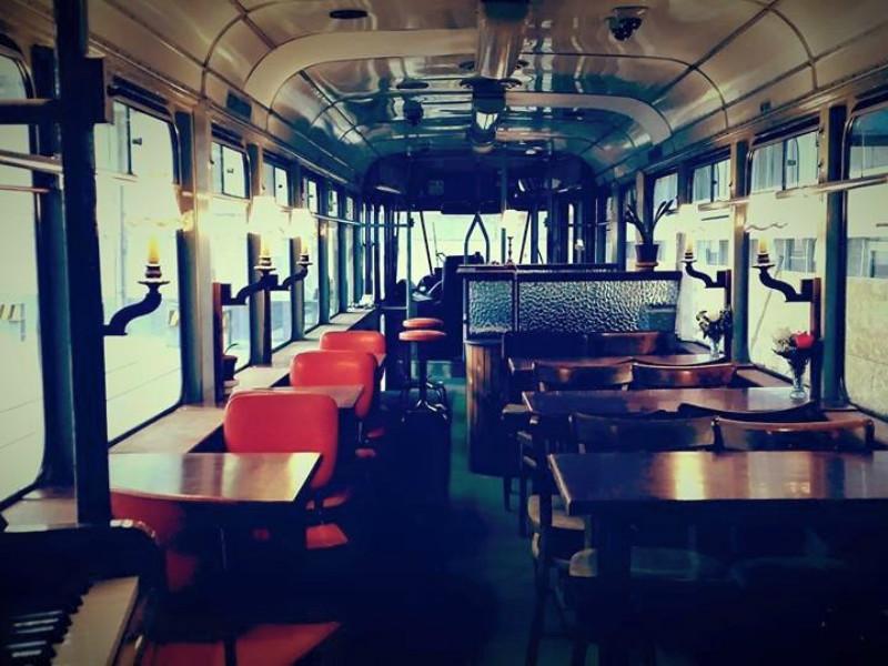 Tram DE LUX interieur