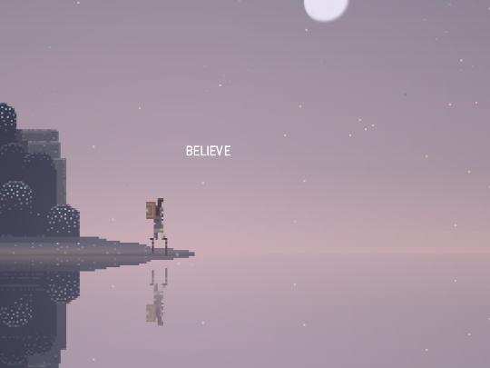 要在夢境世界找出新的道路,你唯一需要的,是相信。