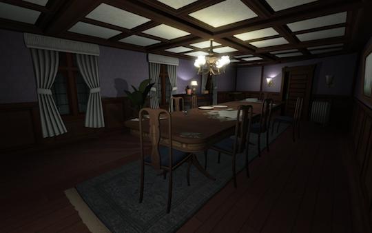 為了防止玩家太快得知重要劇情,還是有些房間一開始是鎖著的。