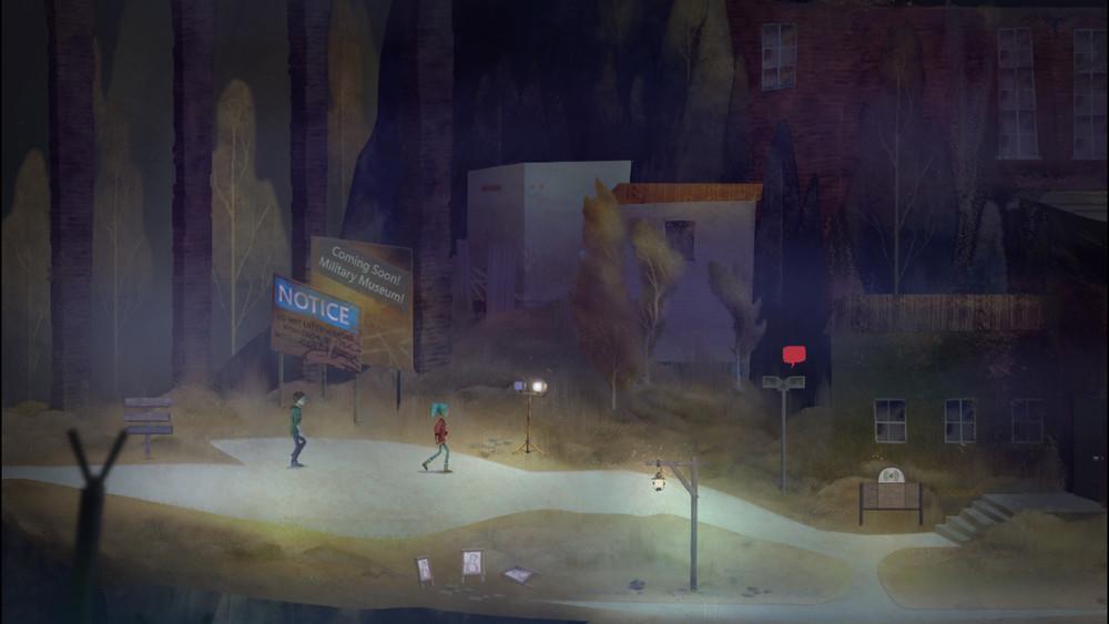 昔日的熱鬧市鎮如今已人去樓空,顯得格外寂寥。