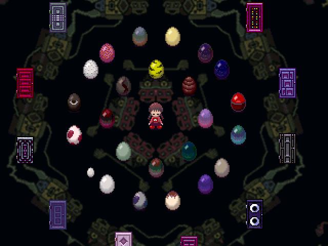 收集到的道具帶回「門的房間」,就能變成彩蛋放在地上,集齊24個之後會...?