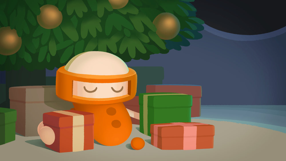 Christmas is coming! Emeth has a surprise for you...  聖誕節快到囉!艾姆準備了驚喜,想要告訴你呢⋯⋯