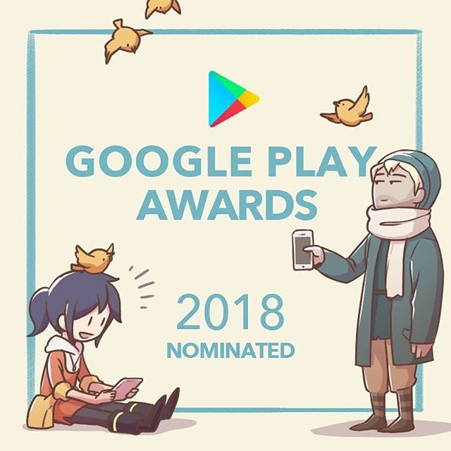 Rocket of Whispers is nominated in the Standout Indie for the 2018 #GooglePlayAwards ! There are over 1,000,000 games on the Play Store, and only 5 were selected amongst all global indie games, so we think that it's quite worth celebrating 🙌 Thank y'all! / OPUS 靈魂之橋獲 Google Play Awards 2018「最佳獨立遊戲獎」提名!在 Google Play 上的 app 超過三百萬個 ,本屆大獎從中選出 9 個類別、每類別各 5 名入圍者共計 45 款 app,能夠入圍對開發者來說深具意義。  和靈魂之橋一起入圍最佳獨立遊戲獎的還有 Old Man's Journey、Flipping Legend、Bridge Constructor Portal 與 Agent A。究竟誰會得獎呢?結果5月7日揭曉