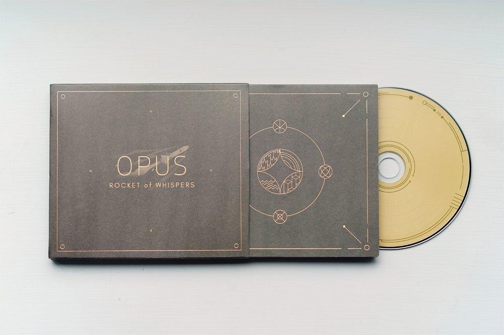 OPUS:靈魂之橋原聲專輯 - 僅為荒涼獻上祝福,為天堂留住幸福。