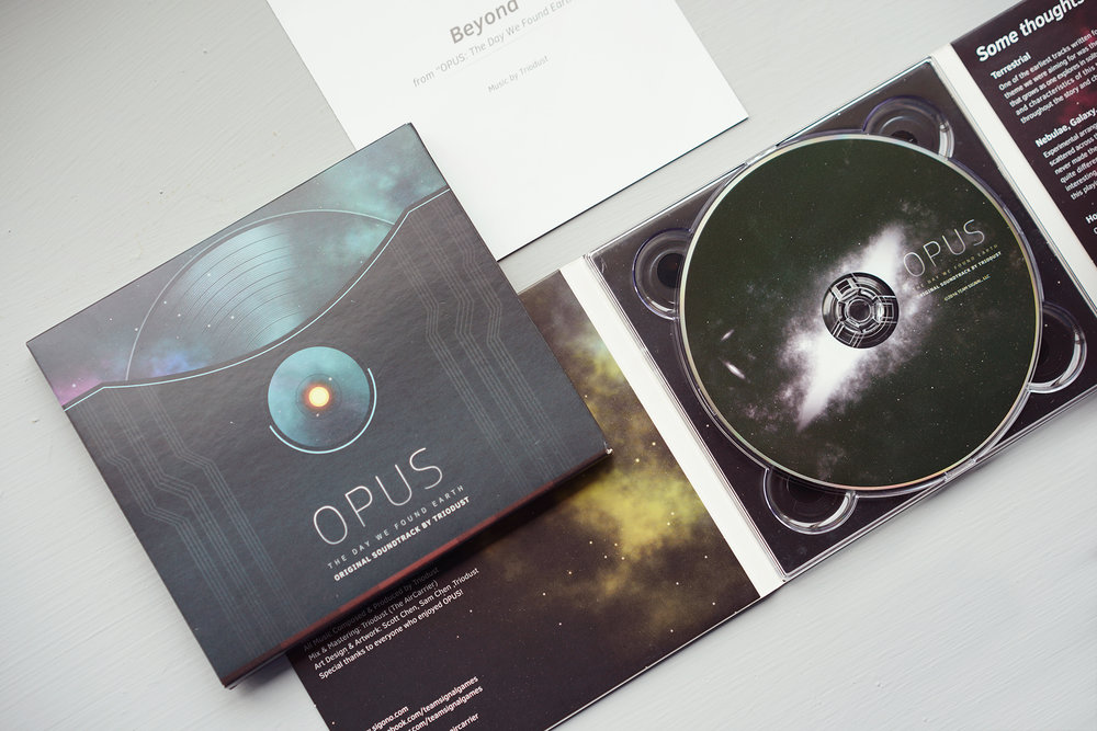 OPUS:地球計畫原聲專輯 - 漂浮在無邊無際的宇宙裡,感受著夢、寂寞與燦爛的希望。