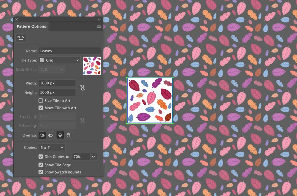 create simple pattern