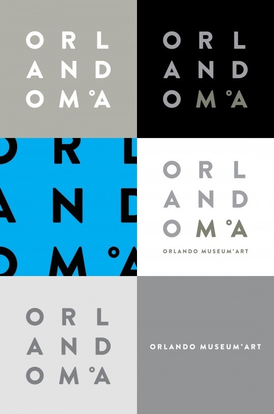 Silver Addy Award – Orlando Museum of Art Logo – Elements of Advertising – Logo