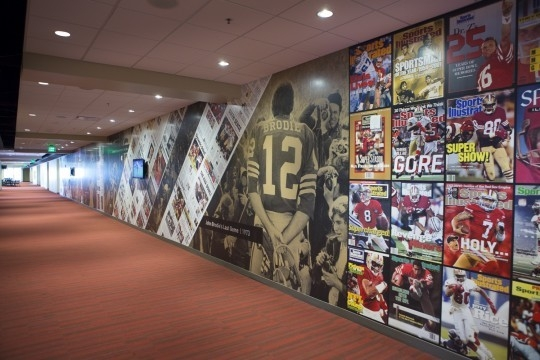 Silver Addy Award – 49ers Stadium Graphics – Sales Promotion – Branded Environment