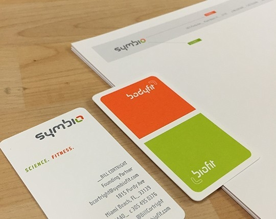 Silver Addy Award – Symbio Identity Package – Collateral Material – Stationary Package