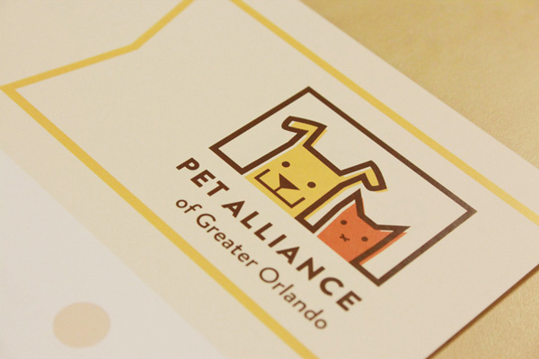 Pet Alliance of Greater Orlando Printed Logo