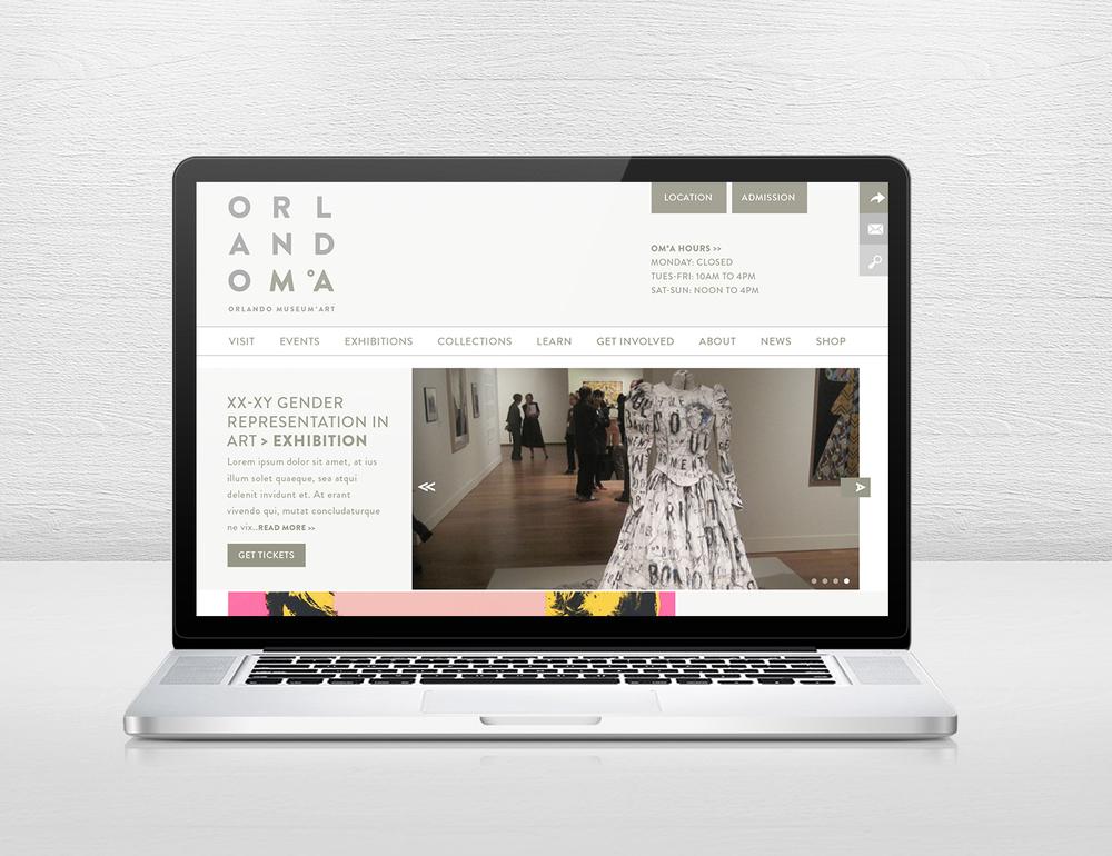 Orlando Museum of Art -  Website