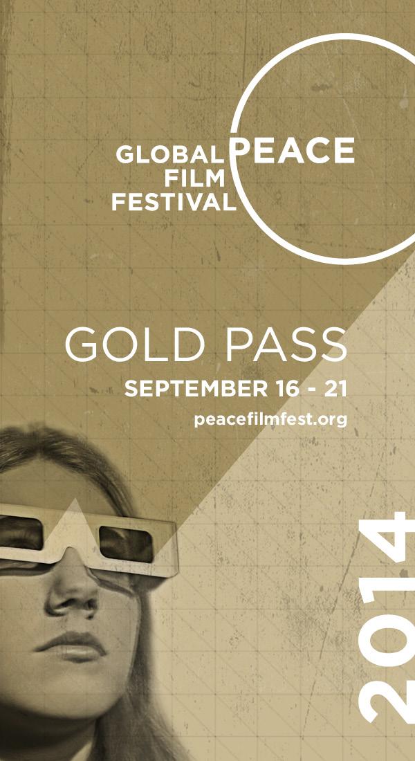 Global Peace Film Festival Gold Pass