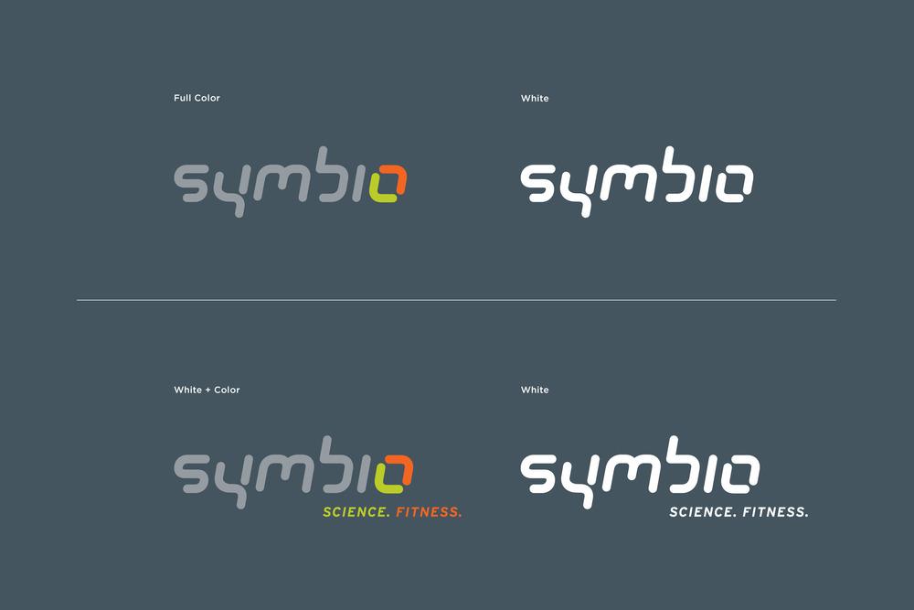 Symbio Fitness Logos