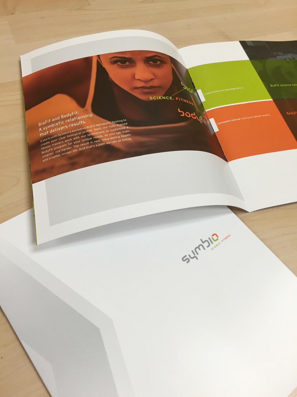 Symbio Fitness Print Brochure