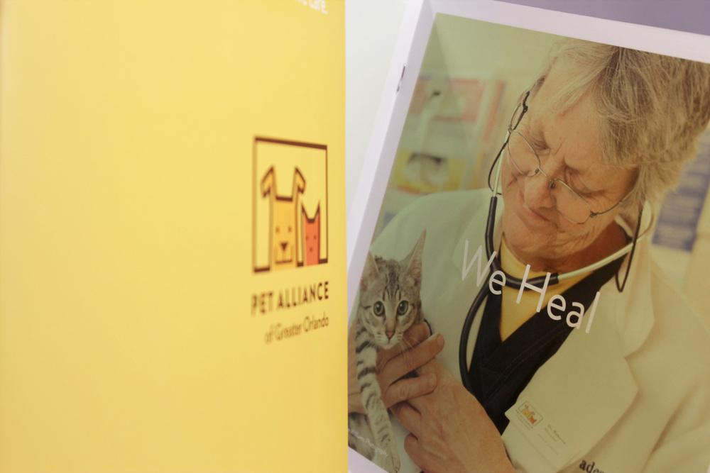 Pet Alliance of Greater Orlando Print Brochure