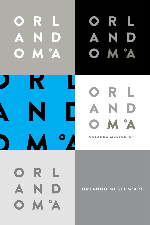 Orlando Museum of Art Rebrand