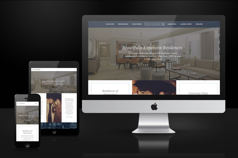 The Lauren Residences Website