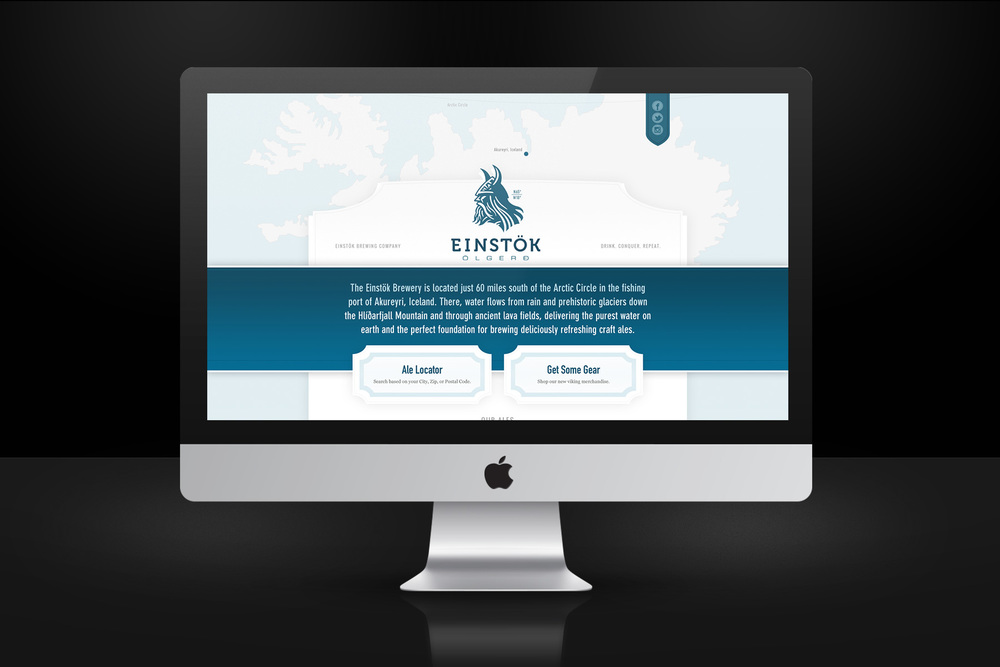 Einstok Website