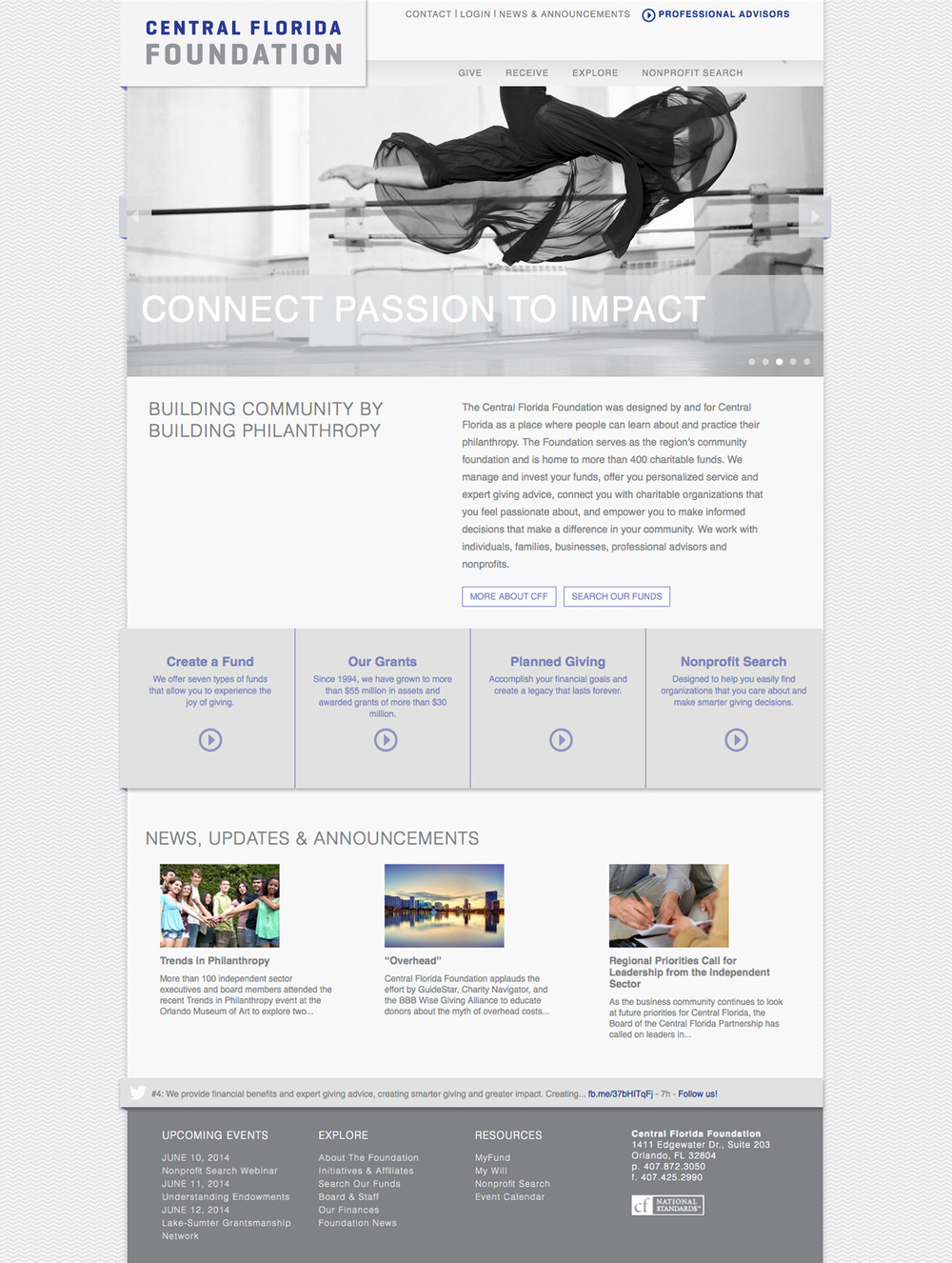Central Florida Foundation Home Page