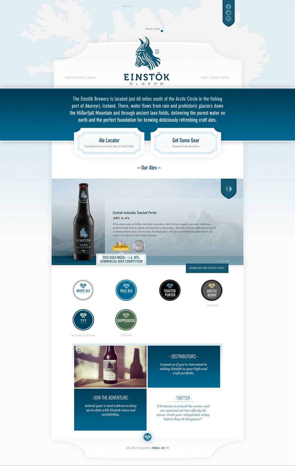 Einstok Website Full