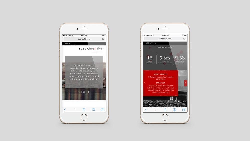 Spaulding and Slye Mobile Site