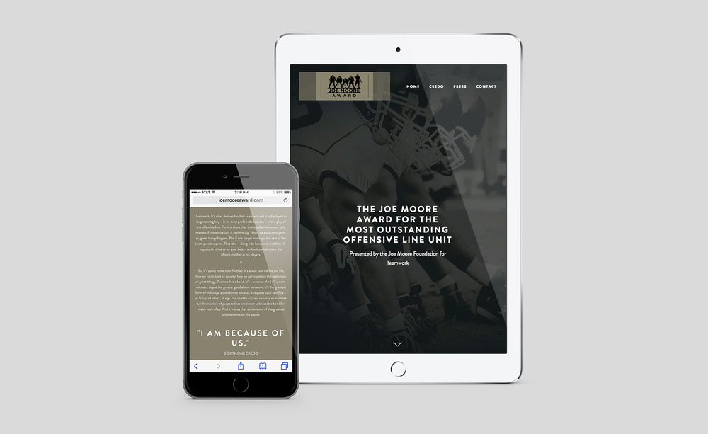 Joe Moore Award Responsive