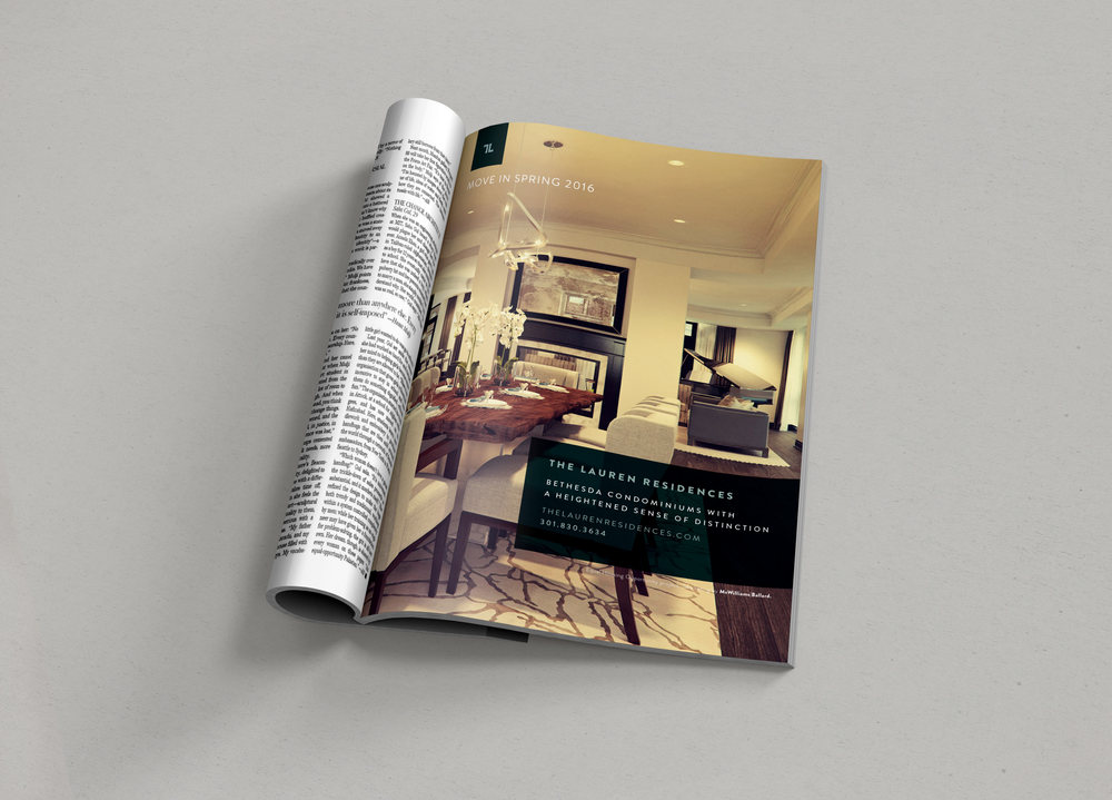 The Lauren Residences Print Ads