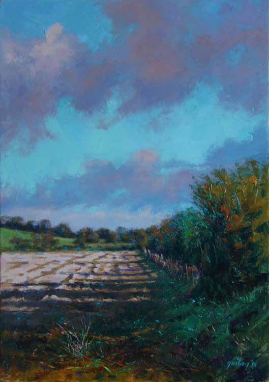 """Early Autumn""     Oil on Canvas    10"" x 14"""