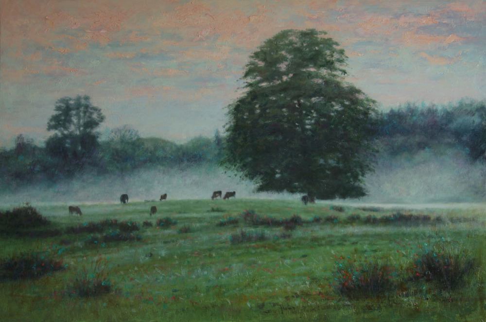 """Evening Mist""     Oil on Canvas    20 x 30 inches"