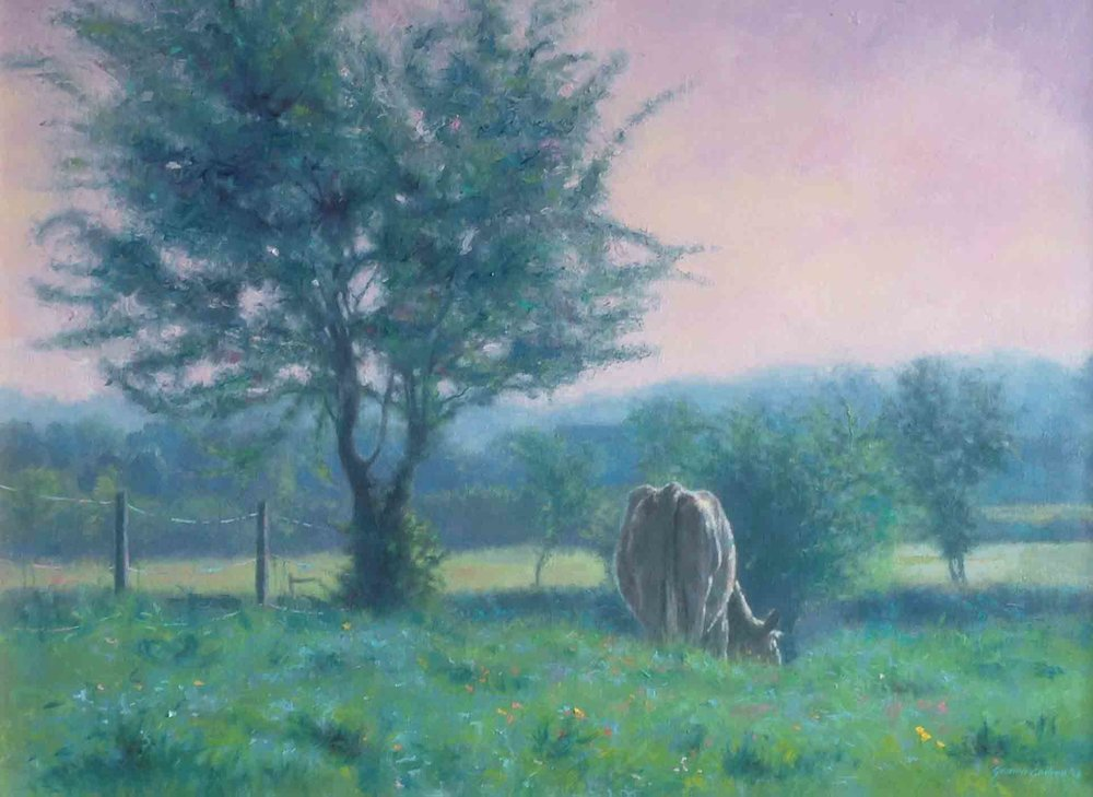 """May Field – Emo""     Oil on Canvas                       16 ins x 22 ins"